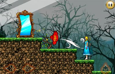 Screenshots of the Alice in Wonderland: An adventure beyond the Mirror game for iPhone, iPad or iPod.