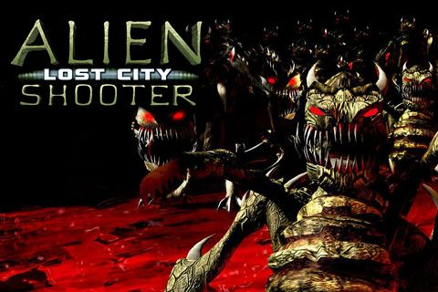 Screenshots of the Alien shooter: Lost city game for iPhone, iPad or iPod.