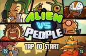 In addition to the game Tiny Planet for iPhone, iPad or iPod, you can also download ALIEN VS PEOPLE for free
