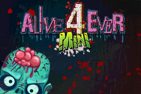Download Alive forever mini: Zombie party iPhone free game.