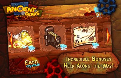 Screenshots of the Ancient Gears game for iPhone, iPad or iPod.