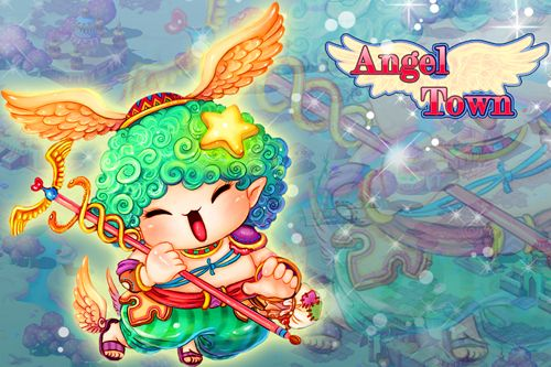 Download Angel town iPhone free game.