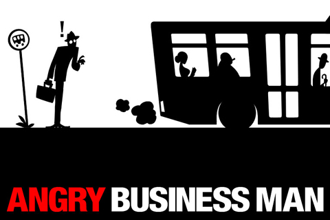 Download Angry business man iPhone free game.
