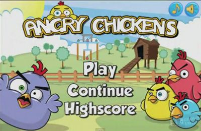 Download Angry Chickens Pro iPhone free game.