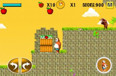 Screenshots of the Angry Panda (Christmas and New Year Special) game for iPhone, iPad or iPod.