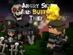 In addition to the game Rope'n'Fly - From Dusk Till Dawn for iPhone, iPad or iPod, you can also download Angry Sky & Butter thief for free