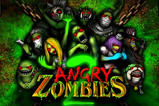Download Angry zombies 2 iPhone free game.