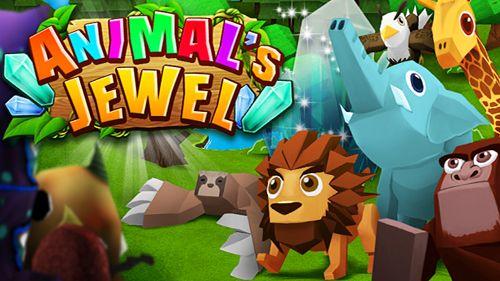 Download Animal's jewel iPhone free game.