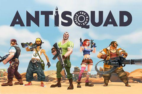 Download Anti squad: Tactics iPhone free game.