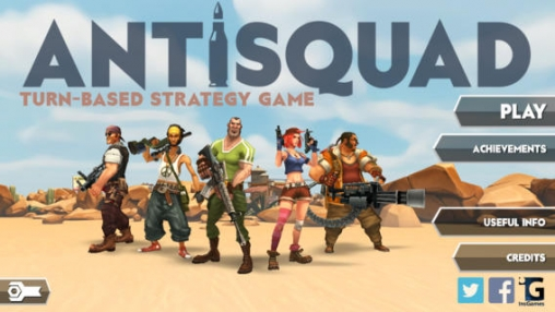Download AntiSquad iPhone free game.