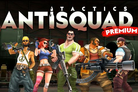 Download Antisquad: Tactics premium iPhone free game.