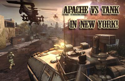 Download Apache vs Tank in New York! (Air Forces vs Ground Forces!) iPhone free game.
