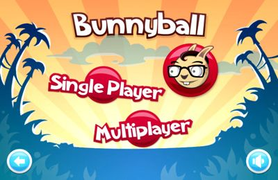 Screenshots of the Arcade BunnyBall game for iPhone, iPad or iPod.