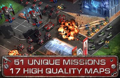 Screenshots of the Area 51 Defense Pro game for iPhone, iPad or iPod.