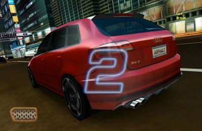 Screenshots of the Asphalt Audi RS 3 game for iPhone, iPad or iPod.