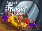 In addition to the game Cut the Rope for iPhone, iPad or iPod, you can also download Attack the Fridge! for free
