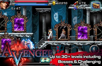 Screenshots of the Avenger game for iPhone, iPad or iPod.