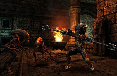 Screenshots of the AVP: Evolution game for iPhone, iPad or iPod.