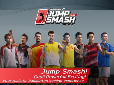 Screenshots of the Badminton: Jump Smash game for iPhone, iPad or iPod.
