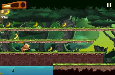 Screenshots of the Banana Kong game for iPhone, iPad or iPod.