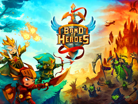 Download Band of Heroes: Battle for Kingdoms iPhone free game.