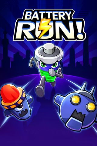 Download Battery run! iPhone free game.