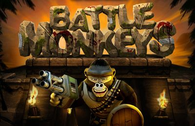 Screenshots of the Battle Monkeys game for iPhone, iPad or iPod.