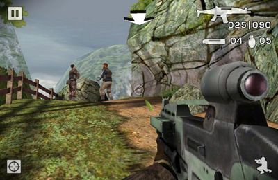 Screenshots of the Battlefield 2 game for iPhone, iPad or iPod.