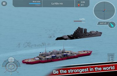 Screenshots of the Battleship Craft game for iPhone, iPad or iPod.