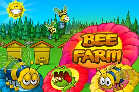 Download Bee farm iPhone free game.