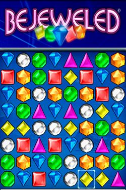 Screenshots of the Bejeweled game for iPhone, iPad or iPod.