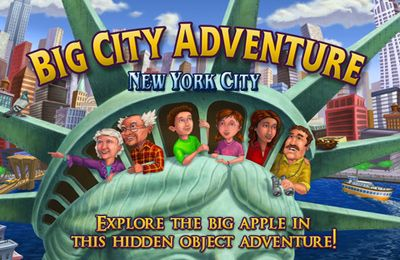 Screenshots of the Big City Adventure: New York City game for iPhone, iPad or iPod.