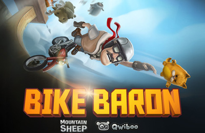 Download Bike Baron iPhone free game.