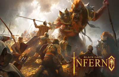 Screenshots of the Black Gate: Inferno game for iPhone, iPad or iPod.