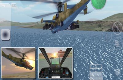 Screenshots of the Black Shark HD game for iPhone, iPad or iPod.