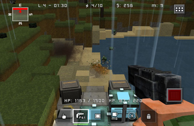 Screenshots of the Block Fortress game for iPhone, iPad or iPod.