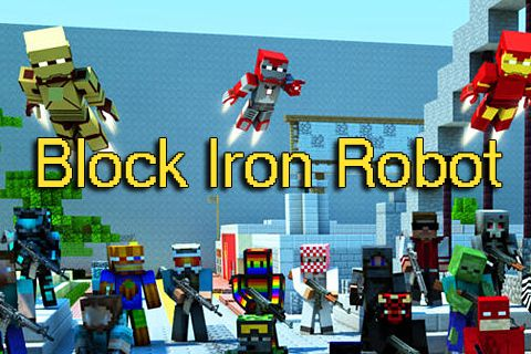 Screenshots of the Block iron robot game for iPhone, iPad or iPod.
