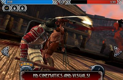 Screenshots of the Blood & Glory: Legend game for iPhone, iPad or iPod.