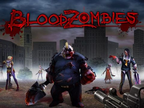 Download Blood zombies iPhone free game.