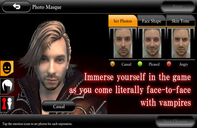 Screenshots of the BLOODMASQUE game for iPhone, iPad or iPod.