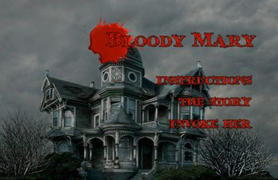 Screenshots of the Bloody Mary Ghost Adventure game for iPhone, iPad or iPod.