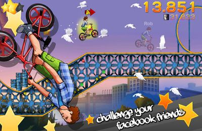 Screenshots of the BMX Jam game for iPhone, iPad or iPod.