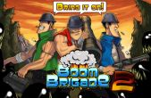 In addition to the game Fat Birds Build a Bridge! for iPhone, iPad or iPod, you can also download Boom Brigade 2 for free