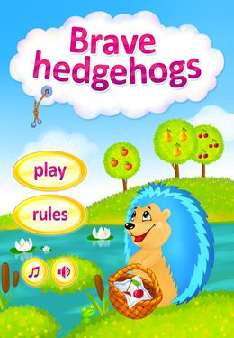Download Brave Hedgehogs iPhone free game.