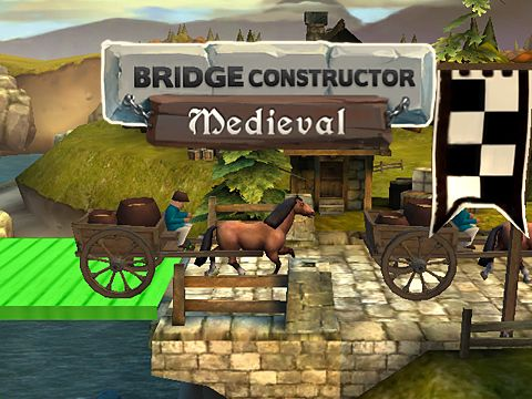 Download Bridge constructor: Medieval iPhone free game.