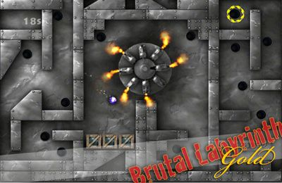 Screenshots of the Brutal Labyrinth Gold game for iPhone, iPad or iPod.