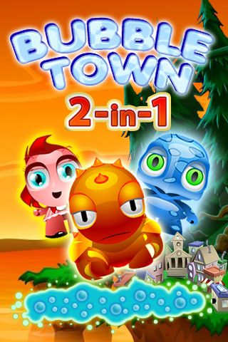 Download Bubble town 2 in 1 iPhone free game.