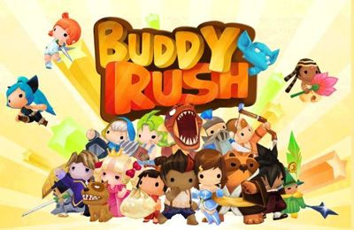 Screenshots of the Buddy Rush game for iPhone, iPad or iPod.