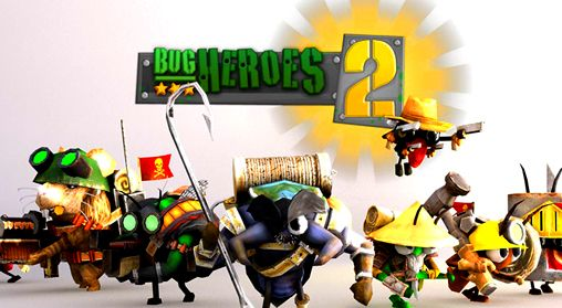 Download Bug heroes 2 iPhone free game.