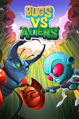 Download Bugs vs. aliens iPhone free game.